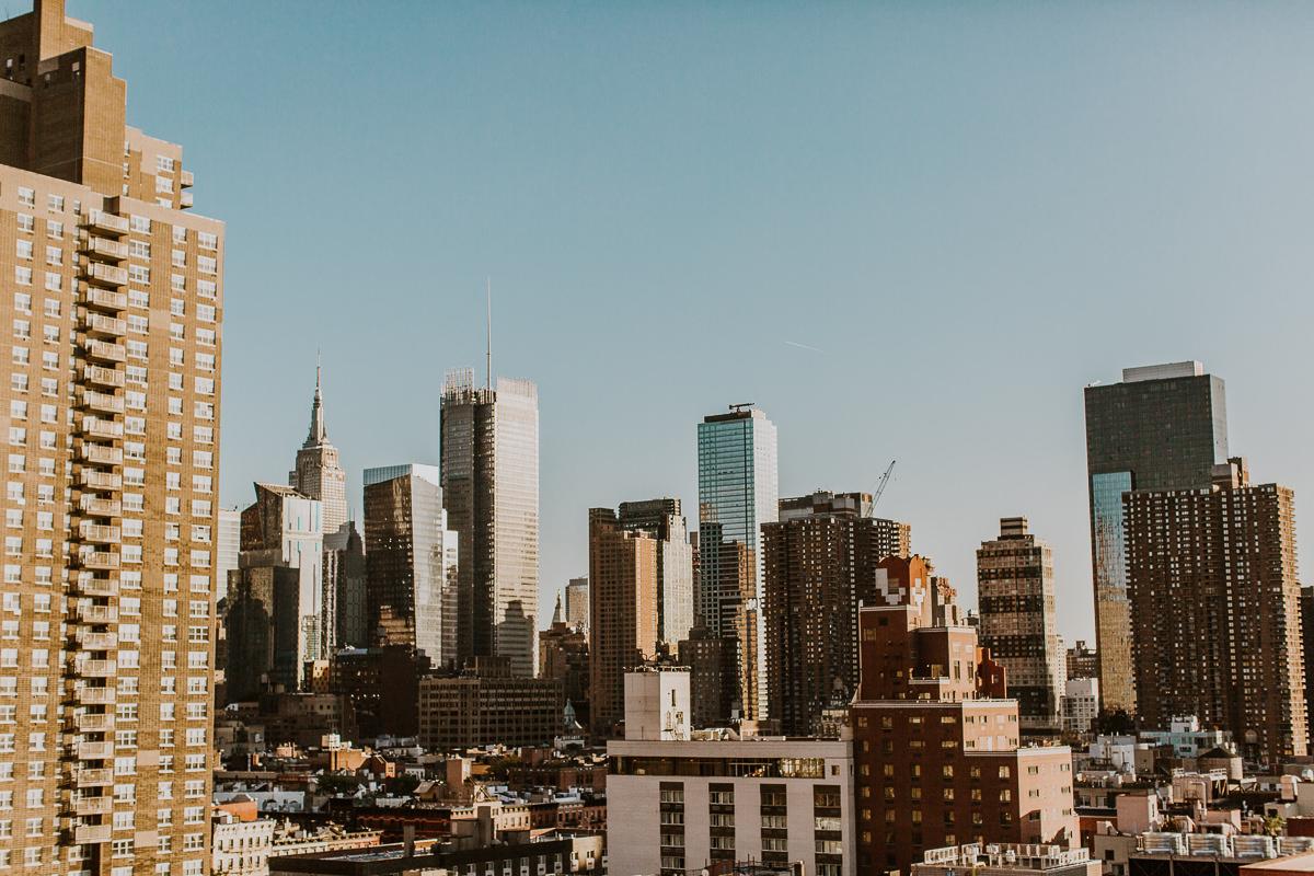 New York Roof Top Wedding