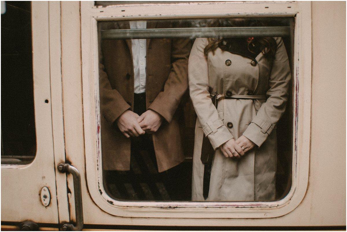 Romantic Railway Potraiture