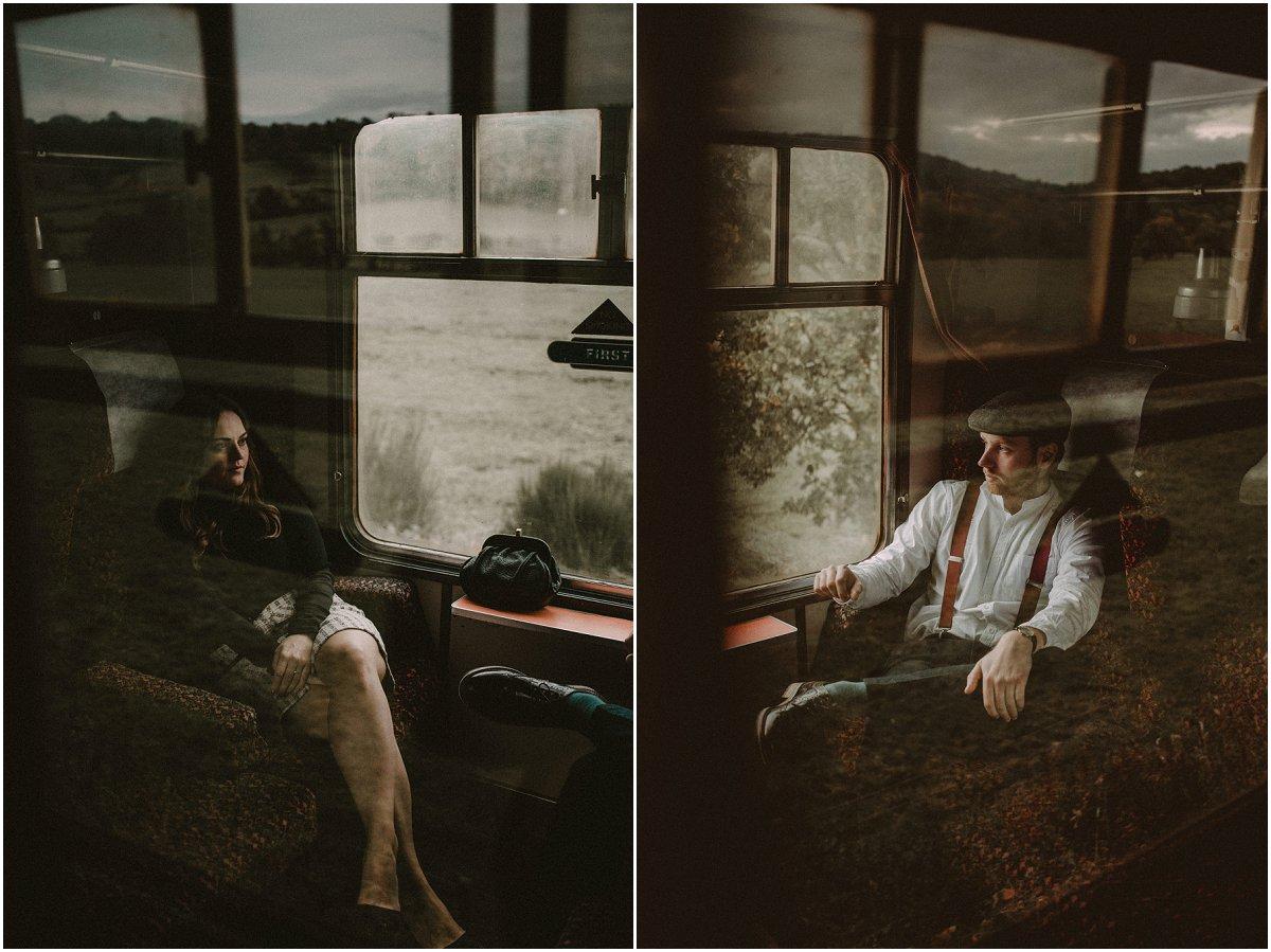 Romantic Railway Portraits